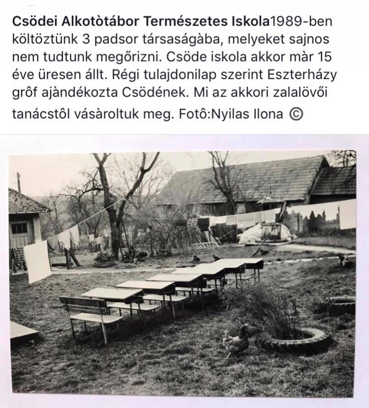 Az egykori Csödei Iskola