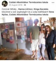 Csizmár Mihály, Lőrincz Hanna, Kecskés Kinga